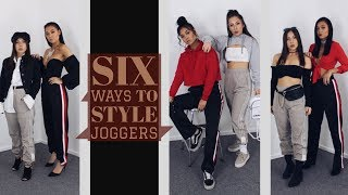 Six Ways To Style Joggers | Sooit