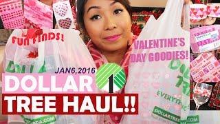 DOLLAR TREE HAUL! VALENTINE'S DAY ITEMS!!! | JANUARY 6, 2016 DT#23