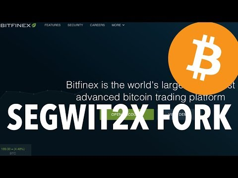 "Bitfinex Will List Segwit2x fork As ""B2X"" BT2 Bitcoin Gold 