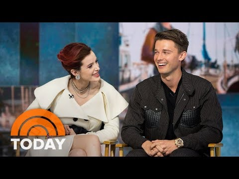 Patrick Schwarzenegger And Bella Thorne Talk OnScreen Chemistry In 'Midnight Sun'  TODAY