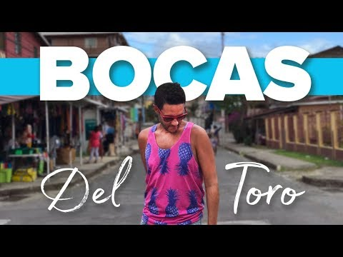 This is BOCAS TOWN. Travel to Bocas Del Toro, Panama.