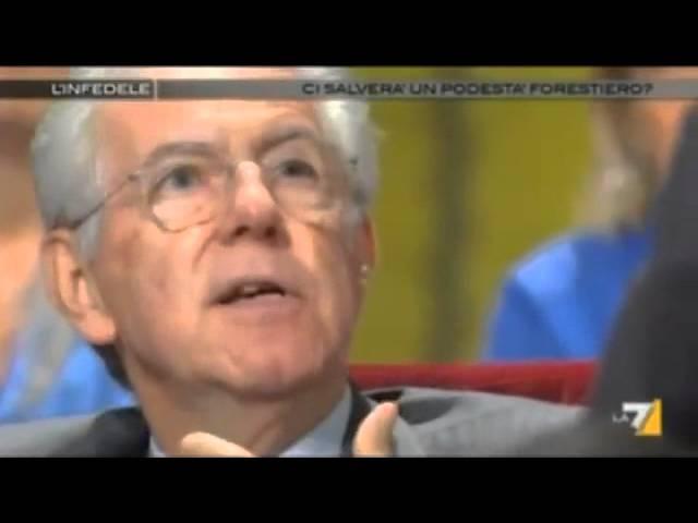 Mario Monti  La Grecia è la manifestazione più concreta del grande successo dell'Euro
