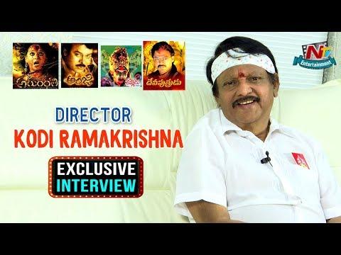 Director Kodi Ramakrishna Exclusive Interview || NTV Entertainment