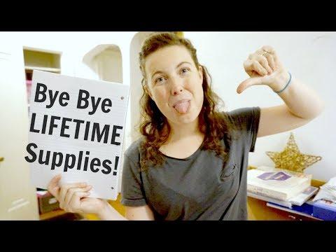 Decluttering Office Supplies Back To School
