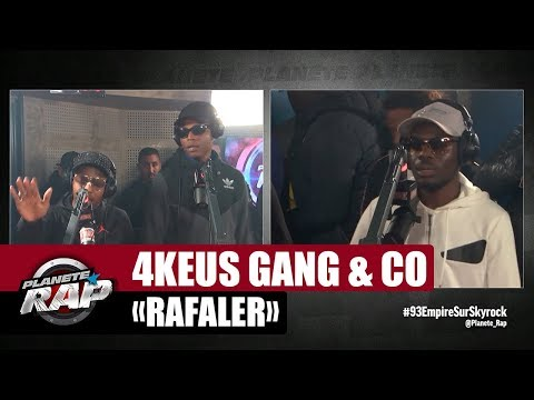 "Kaaris, 4Keus Gang, Q E Favelas & Mac Kregor ""Rafaler"" #PlanèteRap"