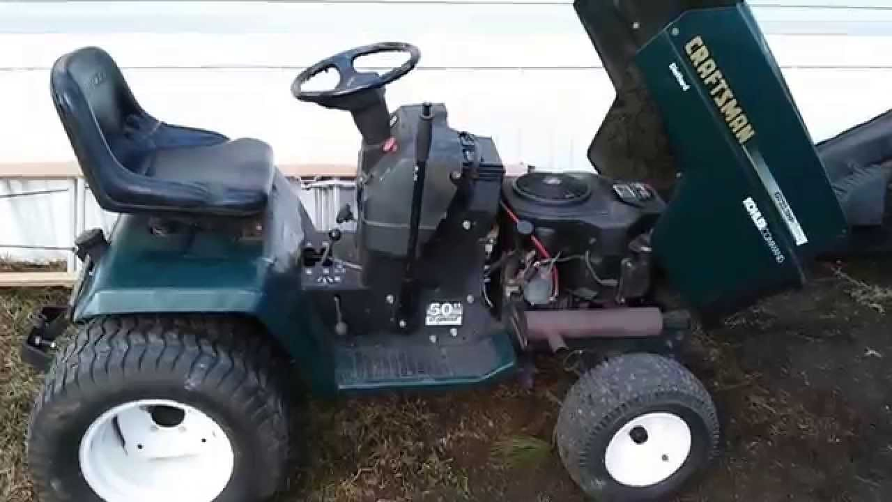 Craftsman Gt Tractor Youtube
