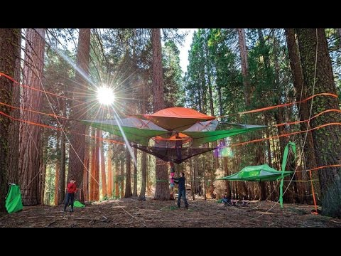 C& in the Air New Suspended Treehouse Tents and Hammocks Designed by Tentsile & Camp in the Air: New Suspended Treehouse Tents and Hammocks ...