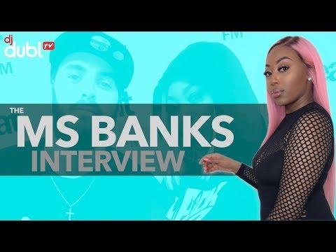 Ms Banks Interview - Going on tour with Nicki Minaj, new 2018 mixtape & other UK females!