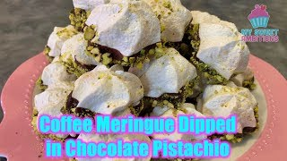 Video Coffee Meringue Dipped in Chocolate  Pistachio download MP3, 3GP, MP4, WEBM, AVI, FLV November 2018