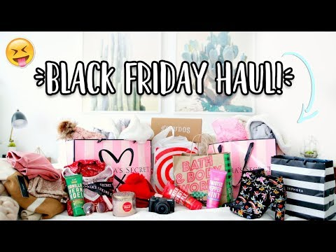 BLACK FRIDAY HAUL 2017!!! | Aspyn Ovard