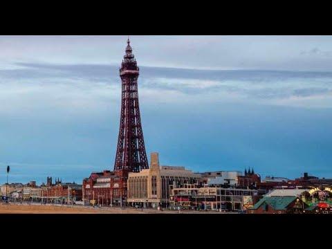 Blackpool Tower, England.