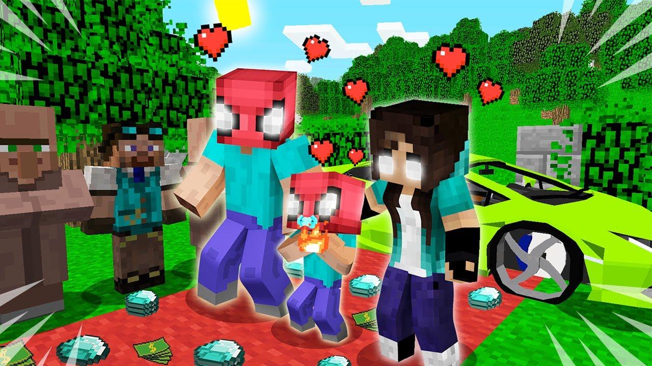 FAKİRİN HEROBRİNE AİLESİ OLDU! 👻 - Minecraft
