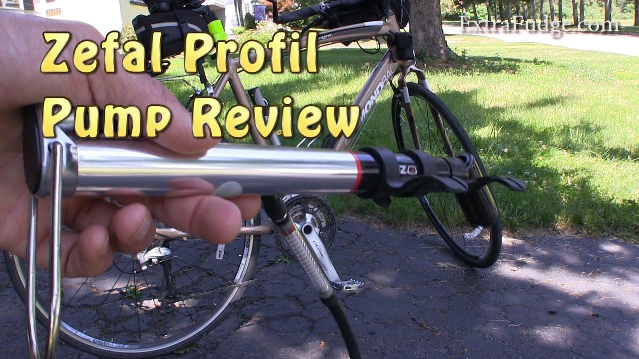 Zefal Road Profile 160 PSI Mini Bicycle Pump with Inline Gauge ...