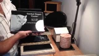 www.StoneArtUSA.com ~ Pet memorials & urns by Stone Art USA