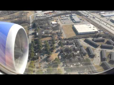 Landing in Memphis Tennessee