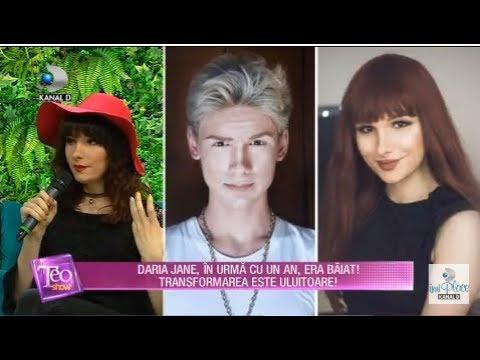 Teo Show (27.11.2018) - Transformare uluitoare! Cu un an in urma, Daria Jane era baiat!