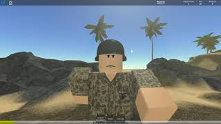 A Hour of Flames of War Pacific: Hacksaw Ridge Sniper Gameplay (Roblox)