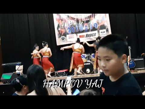 Hmong Australia New year. Nkauj hmoob Australia ຟ້ອນລຳວົງ nawb 2019