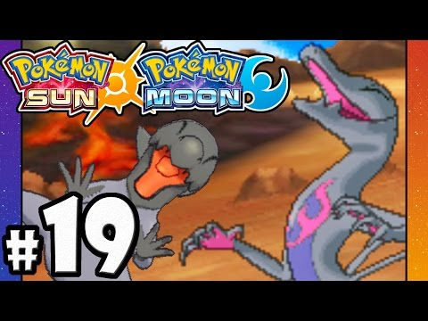 Pokemon Sun and Moon - 3DS Gameplay Walkthrough PART 19 - 3rd Trial: VS Totem Salazzle - Kiawe