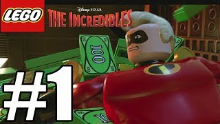 LEGO The Incredibles - Gameplay Walkthrough Part 1 - No Commentary