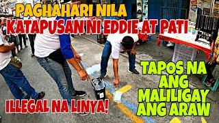 PAGHAH*RI NI EDDIE AT PATTY! PUPUT*ULIN NA YELLOW LINE PINAGBUBURA! MANILA CLEARING OPERATION