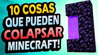✅ 10 Formas de COLAPSAR tu Minecraft!!!