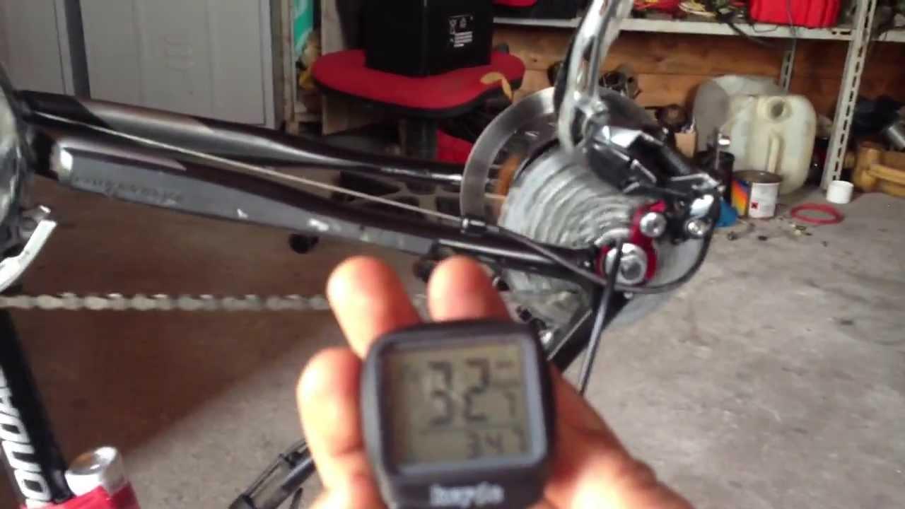 Kit bici elettrica fai da te youtube for Sifone elettrico per acquario fai da te