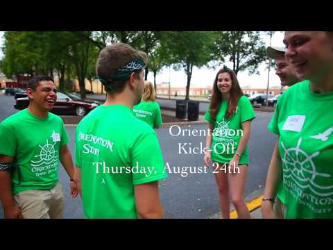 Guide to Move-In and Orientation