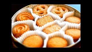 教你做酥到掉渣的黄油曲奇 / 牛油曲奇 Butter Cookies