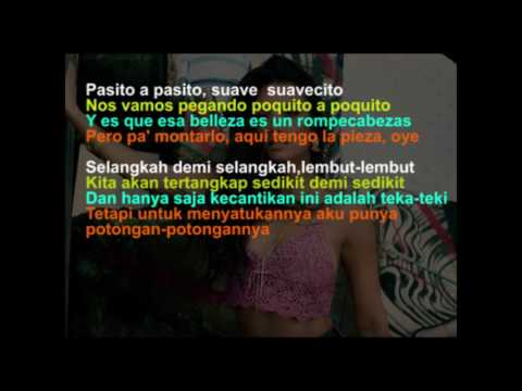 Luis Fonsi - Despacito ft. Daddy Yankee (Video Lirik dan Terjemahan Bahasa Indonesia)