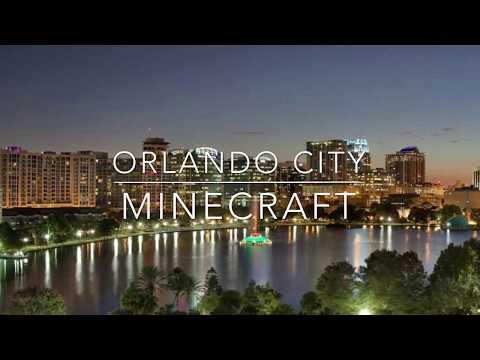 Orlando City /downtown orlando(Minecraft)