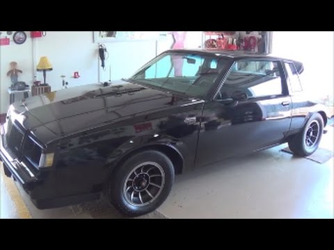 1987 buick grand national 3 8 v6 turbo charged gbody youtube 1987 buick grand national 3 8 v6 turbo charged gbody sciox Images