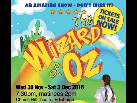 Balerno Theatre Company, Wizard of Oz, 2016