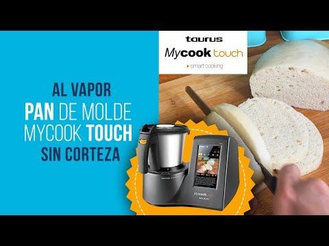 Pan de molde al vapor en MyCook Touch sin corteza