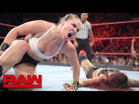 Ronda Rousey Vs. Ruby Riott: Raw, Oct. 1, 2018