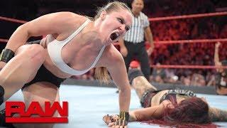 Ronda Rousey vs. Ruby Riott: Raw, Okt. 1, 2018