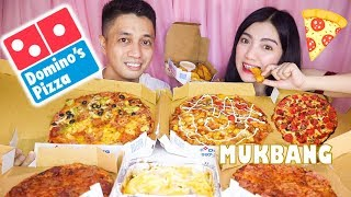 Domino's Pizza Mukbang + Shoutouts