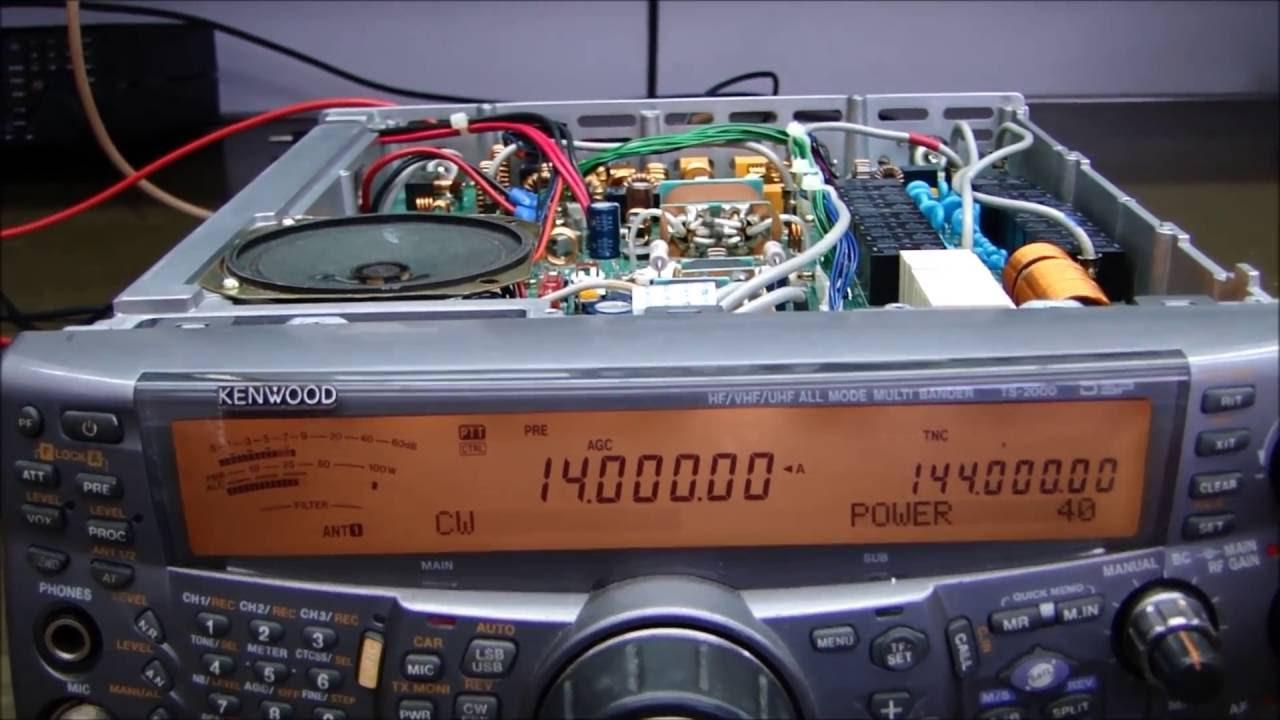 ALPHA TELECOM: KENWOOD TS-2000 SEM RECEPÇÃO e SEM TRANSMISSÃO