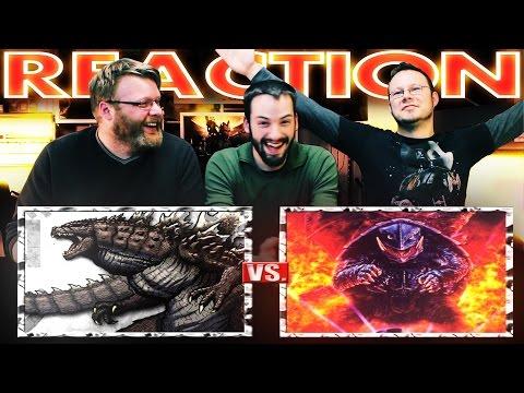 Godzilla VS Gamera Death Battle REACTION!!