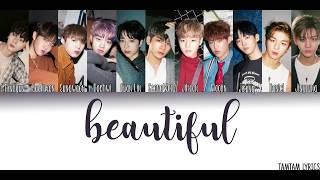 Gambar cover Beautiful - Wanna One Lyrics [Han,Rom,Eng] {Member Coded}