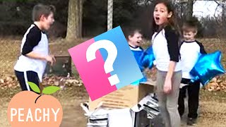 Baby Gender Reveal Reactions So Happy You'll Squeal With Joy 🥰