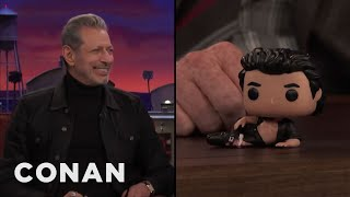 "Jeff Goldblum Loves His ""Jurassic Park"" Pop! Figures  - CONAN on TBS"