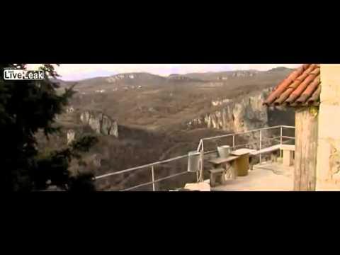 Monk Lives Life Of Solitude Atop 131 Ft Pillar