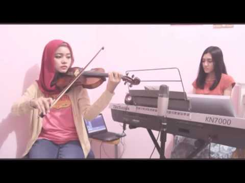 SHERENADE - Dari Hati (Club 80s) Vocal, Violin & Piano Cover