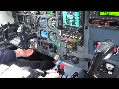 Join us on a short IFR flight in a Piper Malibu
