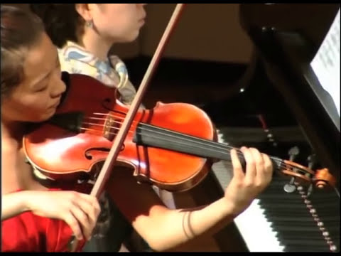 Ji Eun Anna Lee - W.A. Mozart - from Violin Concerto No 2 in D major K 211