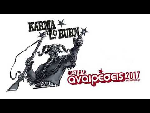 Karma to Burn - Anaireseis Festival (full set) @ Agricultural University, Athens 04/06/2017