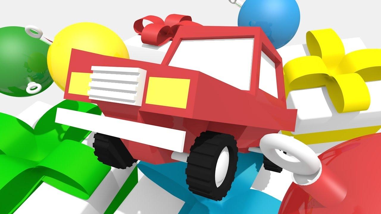 Новые мультики про машинки для малышей. 4 машинки ...
