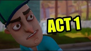 Hello Neighbor Full Game Act 1