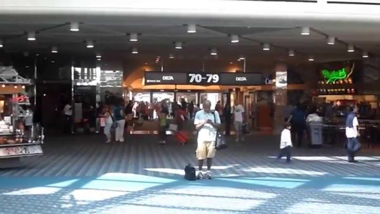 Orlando International Airport Airside Shops Restaurants Gates Used By Virgin Atlantic